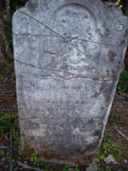 Anthony Berryman & Hannah Edgett Burial Ground